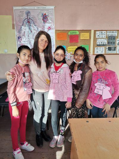 Ден на розавата фанелка 2020/2021 учебна година - ОУ Отец Паисий - Огняново