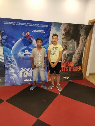Посещение на кино в Пазарджик - ОУ Отец Паисий - Огняново